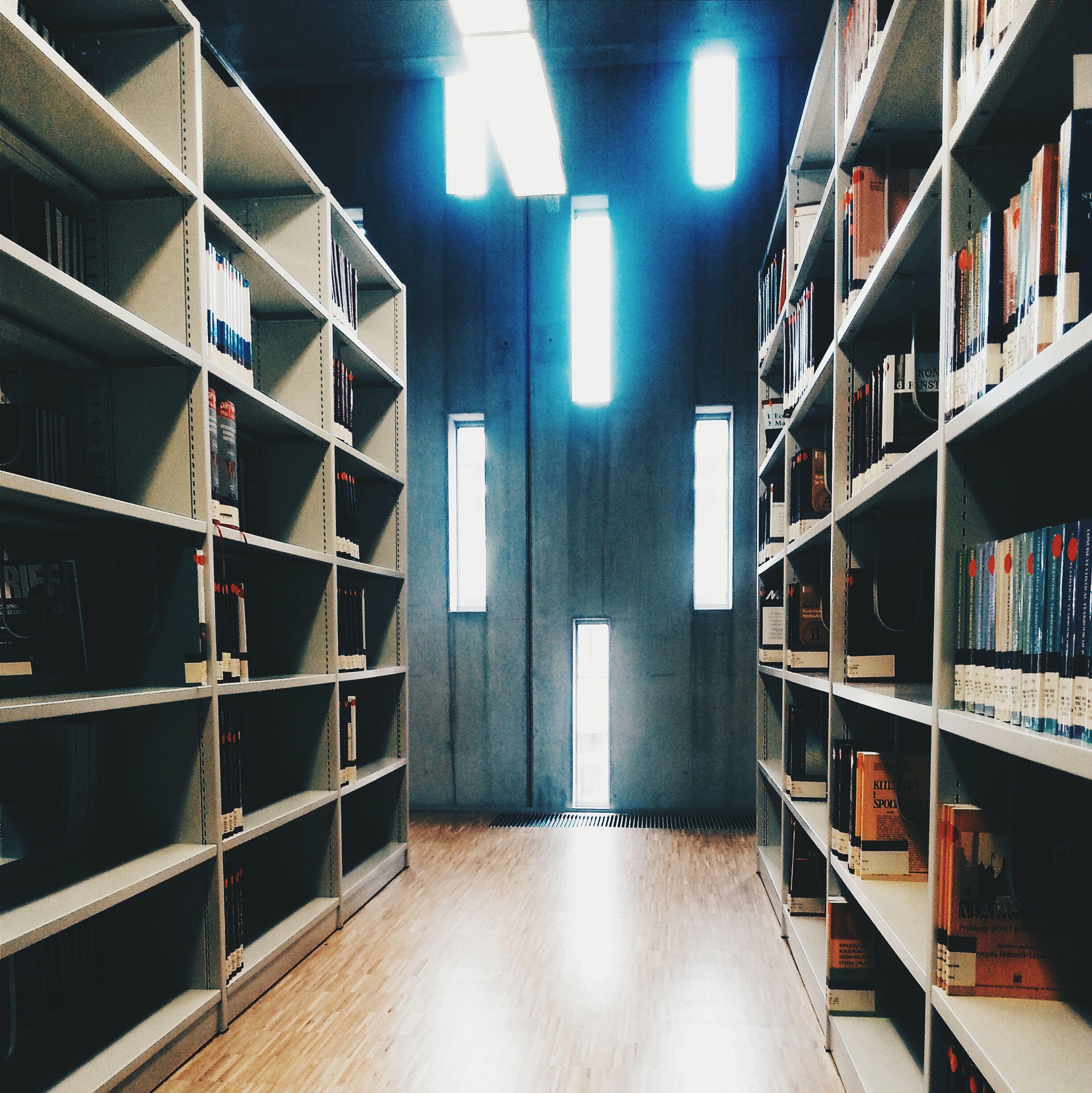Library Books Study Poland Silesia Katowice