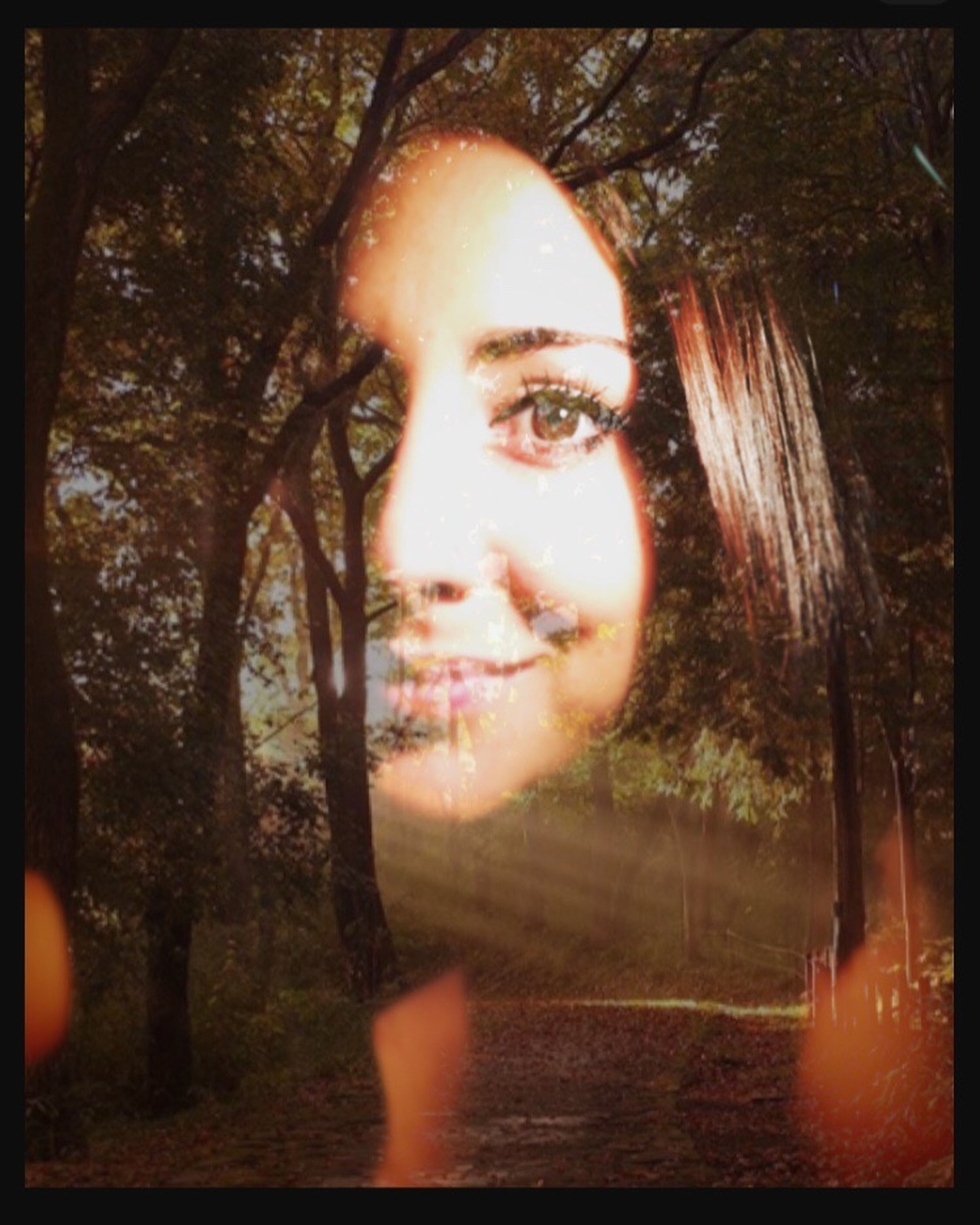 Tanta luz... Double Exposure Cameraplaytime Photographylover Nature Makes Me Smile Selfportrait Beyourself Betterwithasmile