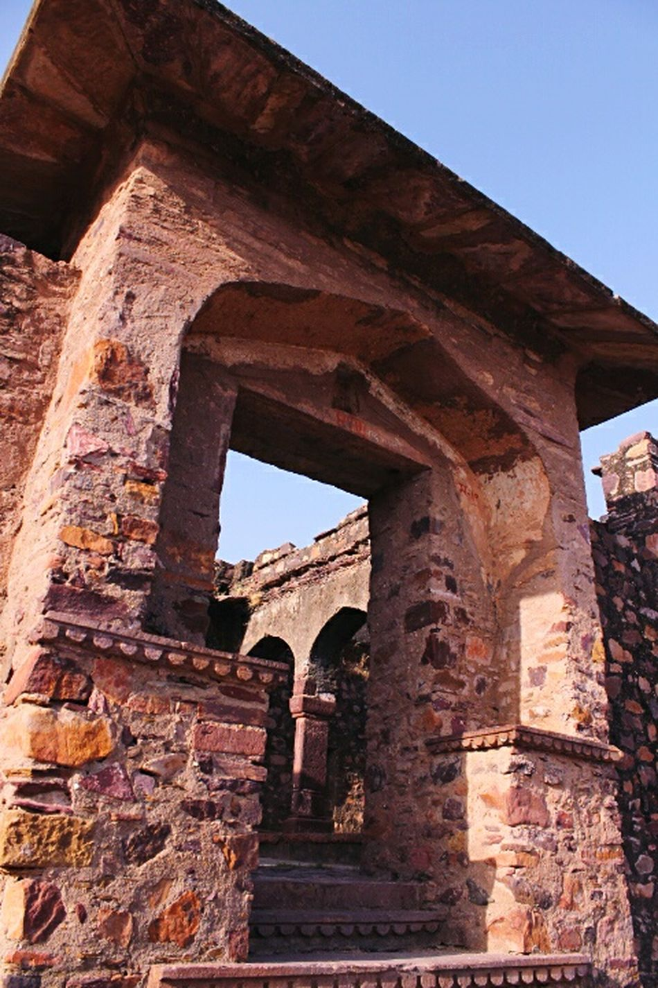 Brick Architecture Old Ruin Arch Built Structure Travel Destinations History Architectural Column Clear Sky Ancient Civilization Outdoors Rajasthan India EyeEmNewHere Check This Out