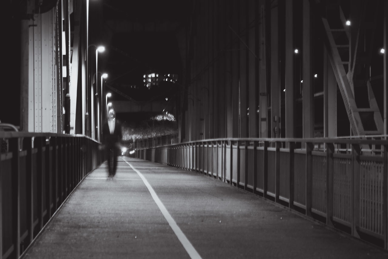 Beautiful stock photos of scary, Diminishing Perspective, Ghost, Illuminated, Night