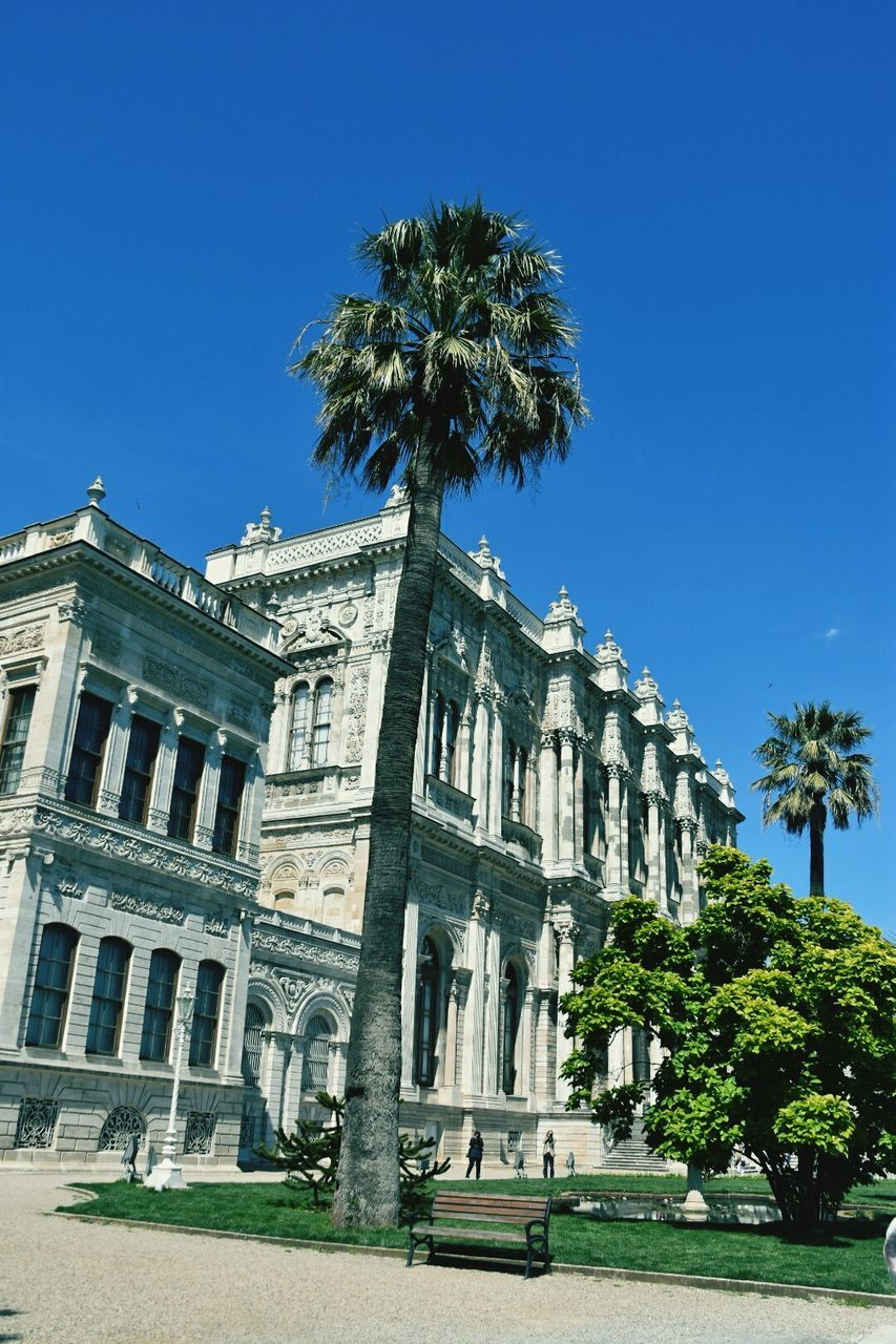 Low Angle View Of Dolmabahce Palace