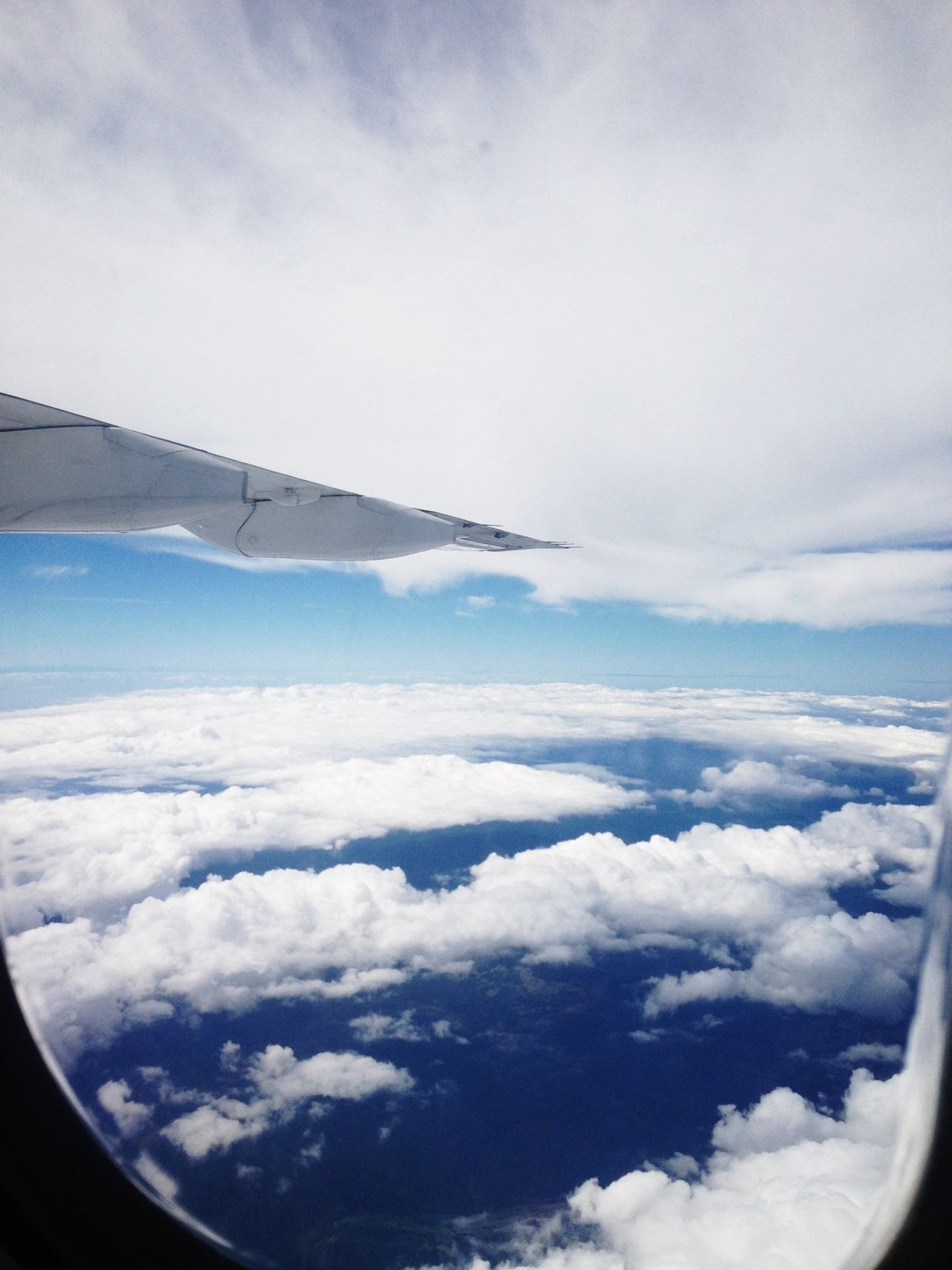 Beautiful stock photos of transparent, Aircraft Wing, Airplane, Cloud - Sky, Cloudy