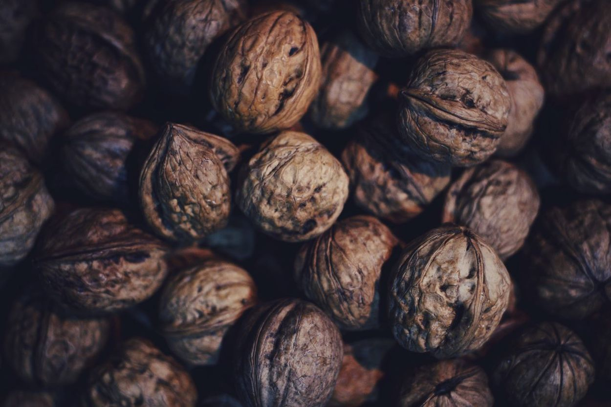 Walnut Full Frame Backgrounds Food Still Life Healthy Eating Freshness Brown No People Close-up Large Group Of Objects Nutshell Indoors  Food And Drink Health Dryfruits Nikon Nikonphotography Nikonphotographer NikonD3100 NikonLife 50mm F1.8 Macro Macro Photography Macrodryfruit