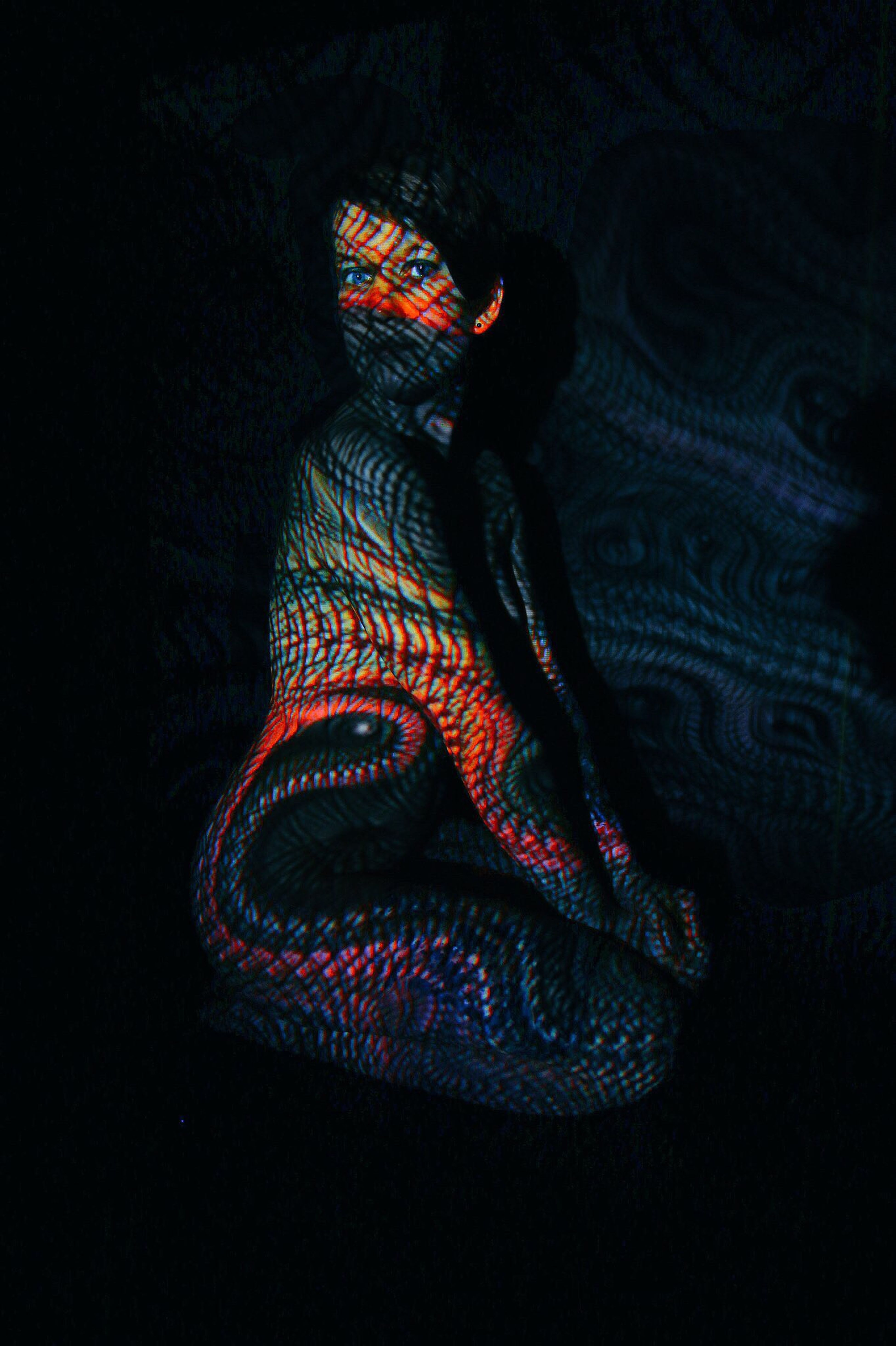 Bodylightpainting Shooting Model Colorshooting M.a.photografie Fuldatal Canon 70d