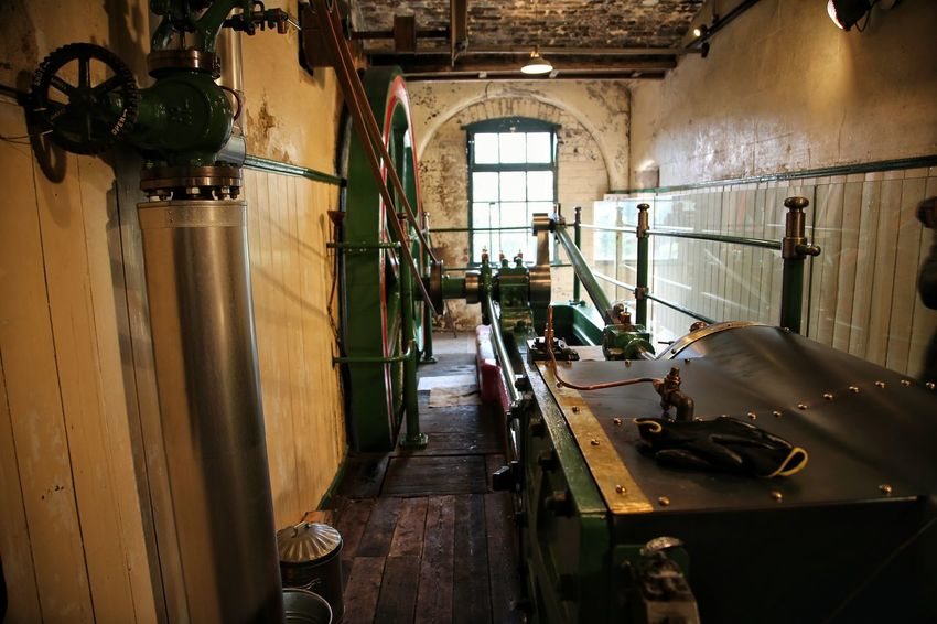 Middleport Pottery Day Factory Indoors  Industry Machinery Manufacturing Equipment Middleport Pottery No People Technology Workshop