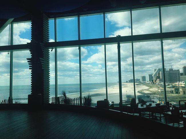 Views From Windows Beautiful Beach Atlantic City Coastline