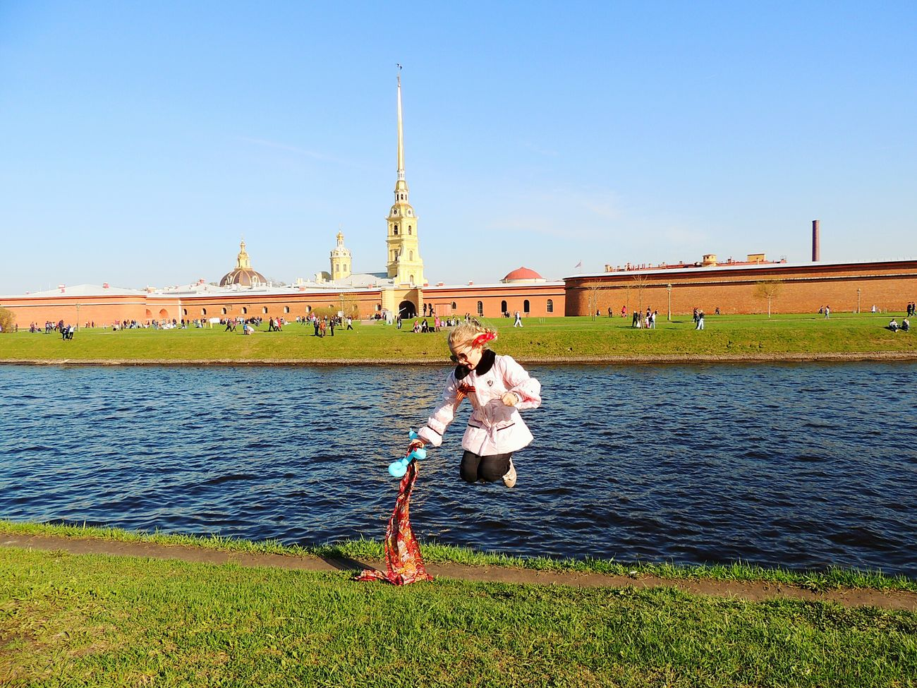 Magician Angel Peterburg Petropavlovskayafortress