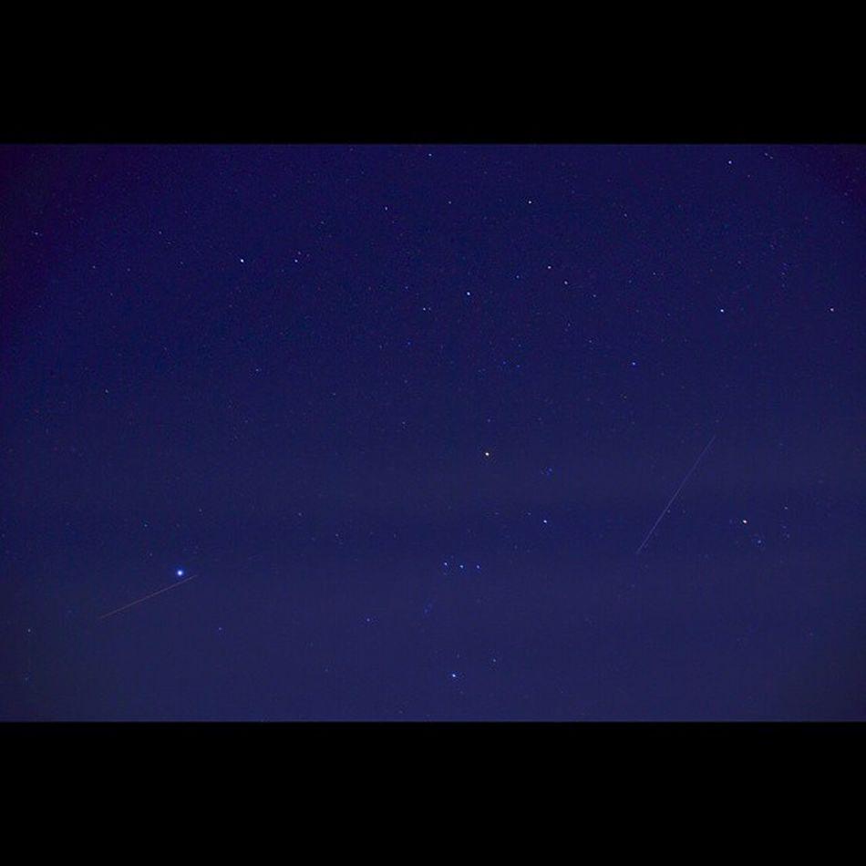星空 流れ星 夜空 風景