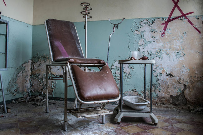 Abandoned School - Lombardia 2015  Abandoned Abandonedschool AlessandroCappello Bad Condition Chair Destruction Dirty Infirmary Itala Murales Urban Decay Urbanexploration Urbex