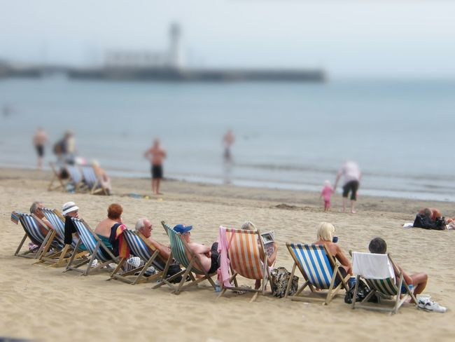 Beach Beach Photography Brits On Holiday Deck Chairs English Summer Holidays Sea Sea And Sand Shore Stripes Everywhere Sun Bathing Tourism Vacations Water Shoreline Coastal Life Golden Years Oh I Do Like To Be Beside The Seaside The Jet Set The Essence Of Summer