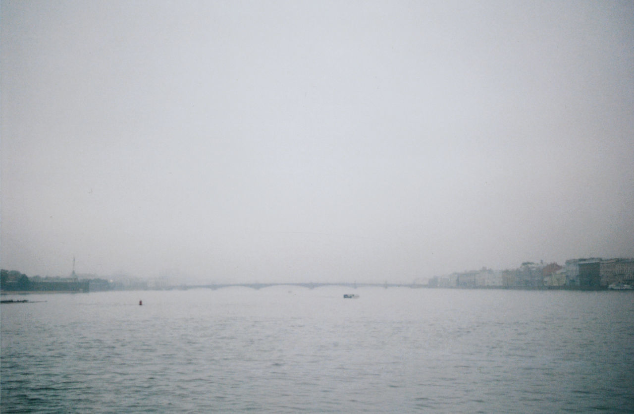Blurred Perspective Day Deminishing Horizon Film Photography Foggy Idyllic Nature No People Outdoors Rain Rainy Day Rippled Saint Petersburg Scenics Sky The River Neva Tranquil Scene Tranquility Water Waterfront Weather The Architect - 2016 EyeEm Awards