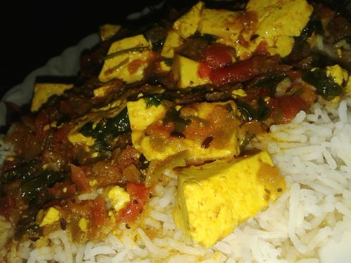 Dinneeeeeeer Cottage Cheese With Rice 🎈👻
