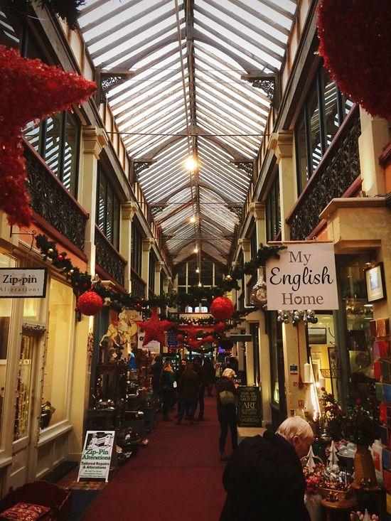 Clifton Arcade Clifton Christmas Shopping Festive Festive Season Festive Mood