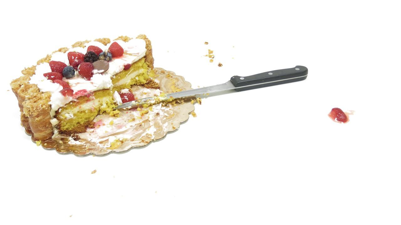 Beautiful stock photos of kuchen, white background, studio shot, no people