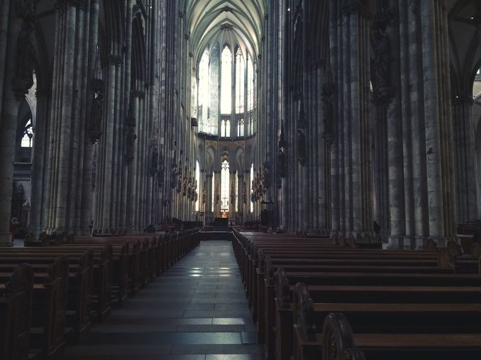 kölner dom Place Of Worship Religion Spirituality Architecture Indoors  Church Cathedral Kölner Dom Christianity