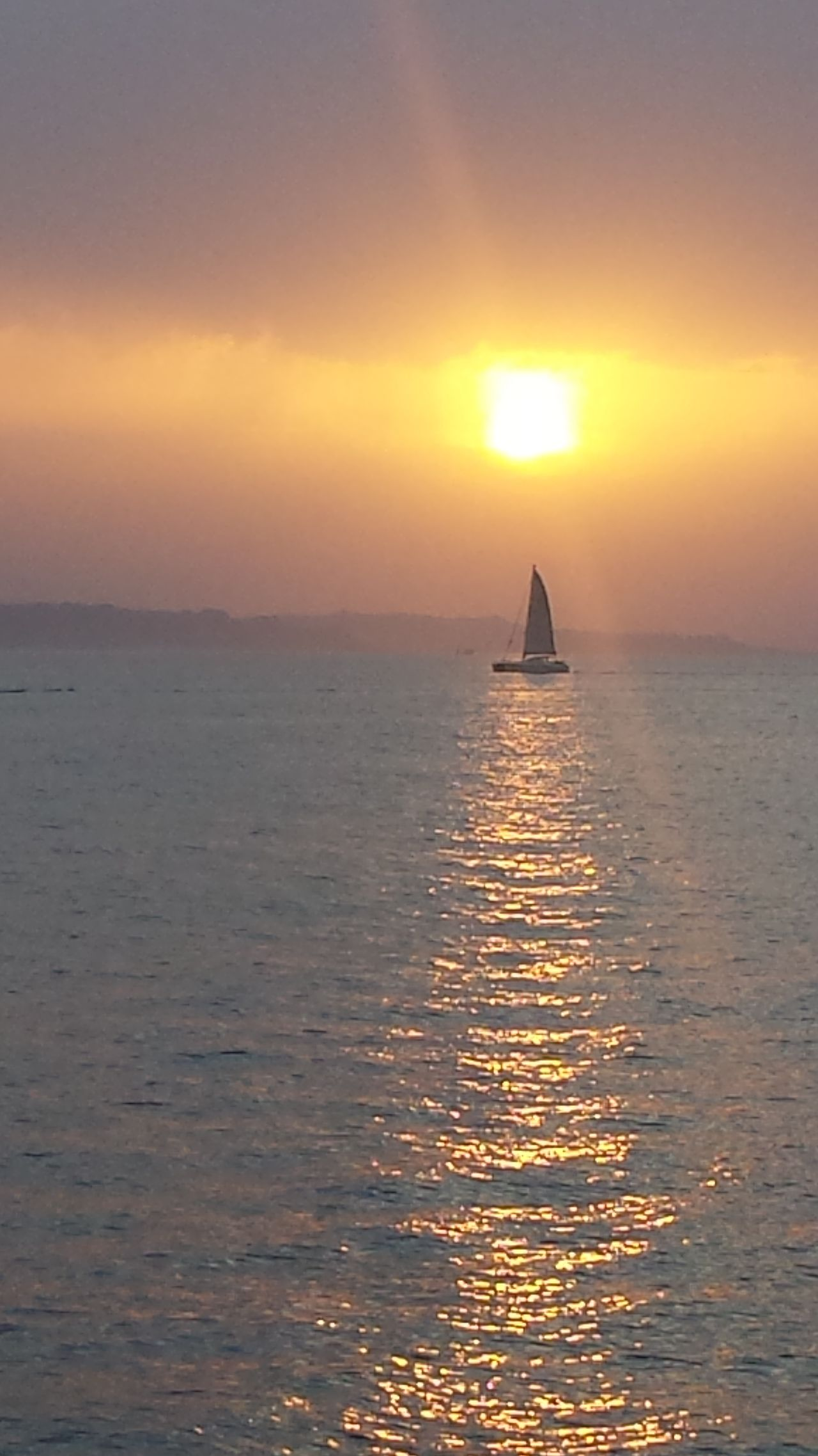 Original Photo Sea And Sky Puestadesol Barcos Sunlight Lamaddalena
