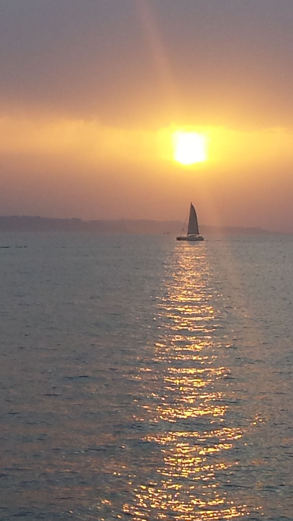 Original Photo Sea And Sky Puestadesol Barcos Sunlight Lamaddalena