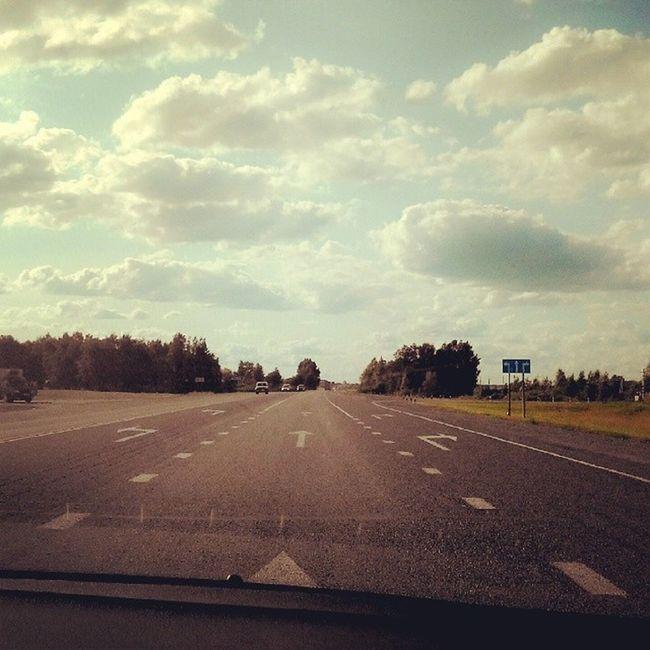 Дорога в аэропорт