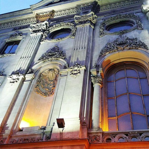 Tbilisi Architecture Rustaveli Theater Theatre Davitsarkisovi