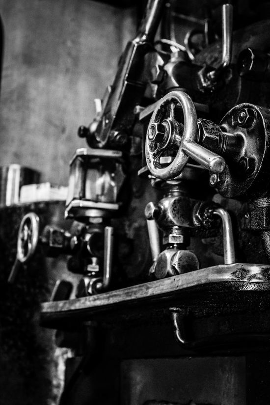 Black And White Close-up No People Selective Focus Steam Engine Steam Locomotive Steam Train Tanfield Railway
