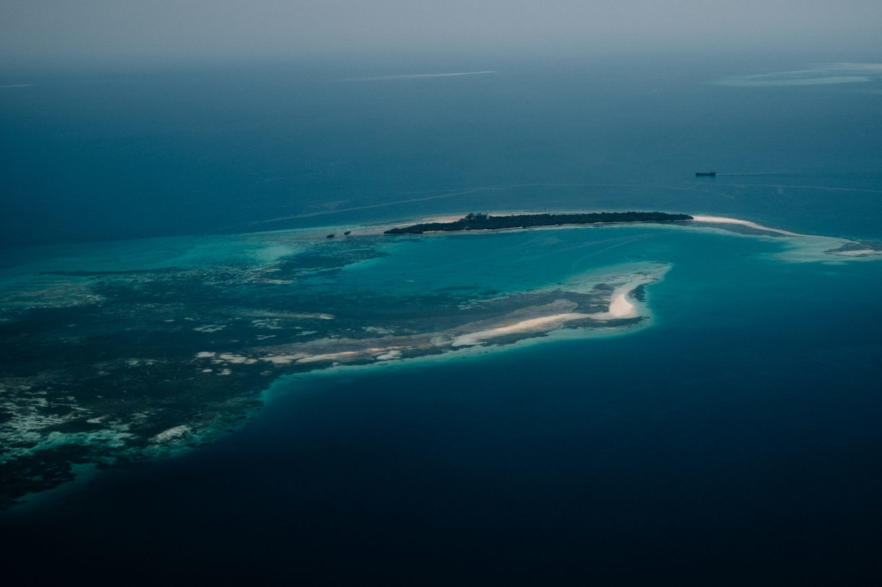 Aerial View Beauty In Nature Island Nature No People Outdoors Scenics Sea Sky Water Zanzibar