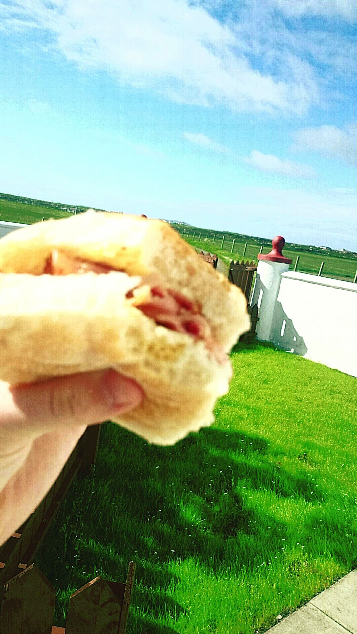 Morning Outdoors Tiree Scotland Sky Bacon Roll Sunny Day Relax Holiday Chill