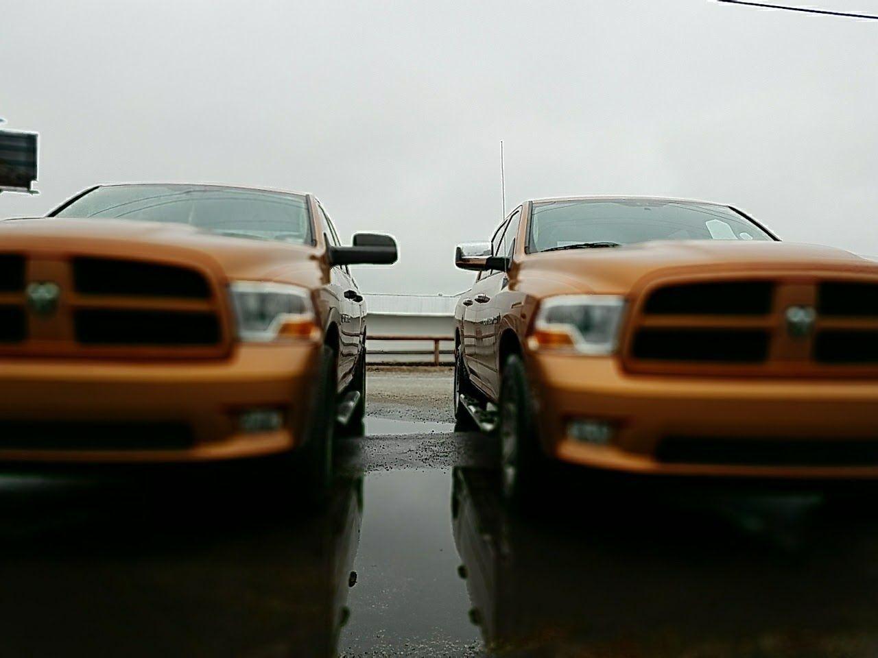The Street Photographer - 2017 EyeEm Awards Transportation Outdoors Sky Overcast Puddle Trucks Mirror Reflection
