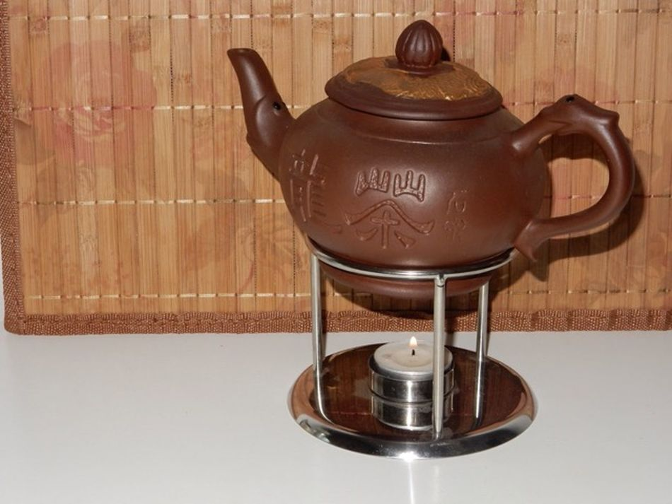 зеленыйчай Чай глина Чайник свеча Tea Tea Time Greentea