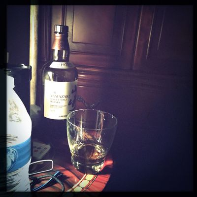 Drinking before sleep Whisky