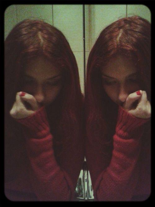 Mirror Redhead Red Protocol