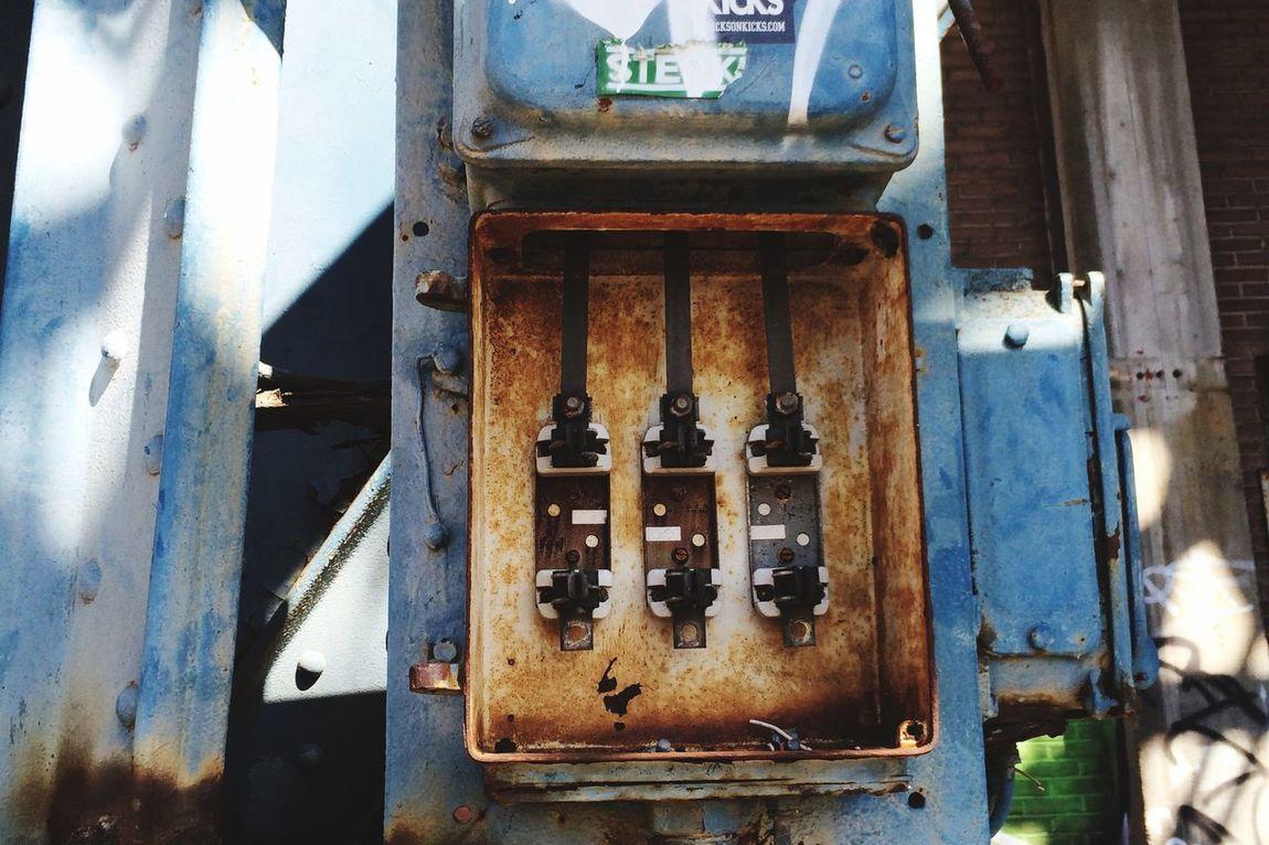 EEA3 - Amsterdam rusty Mechanics