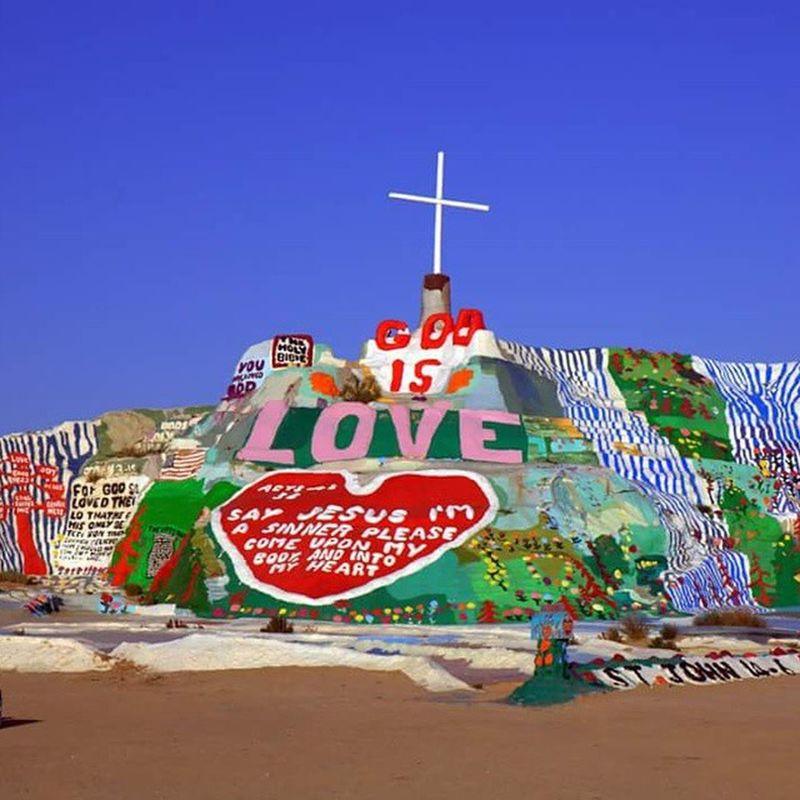 Salvationmountain Nyland Saltonsea Coachella CoachellaValley Palmsprings
