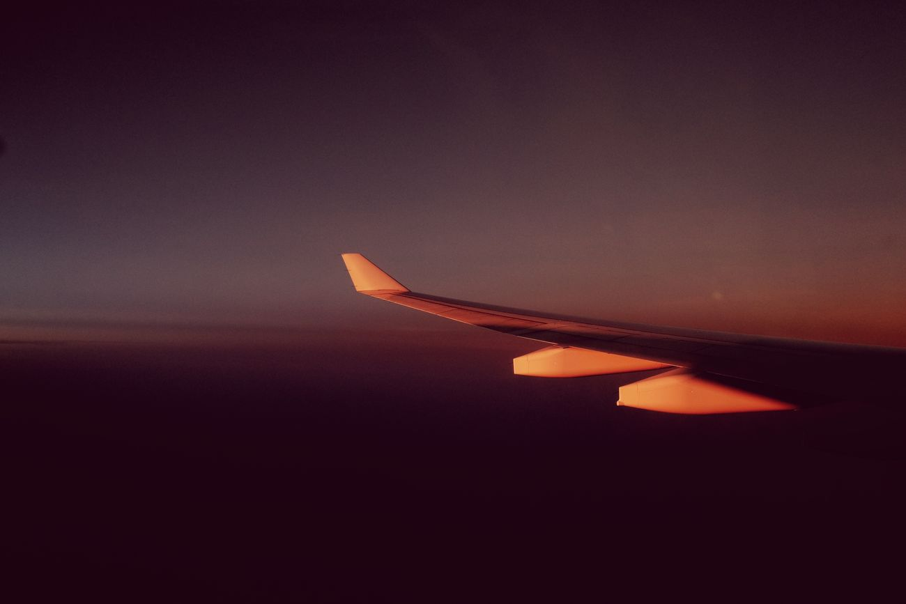 Traveling Home For The Holidays Philippines Sky Airplane Travel Mode Of Transport Airplane Wing Sunset No People FilipinoStreetPhotographers Eyeem Philippines