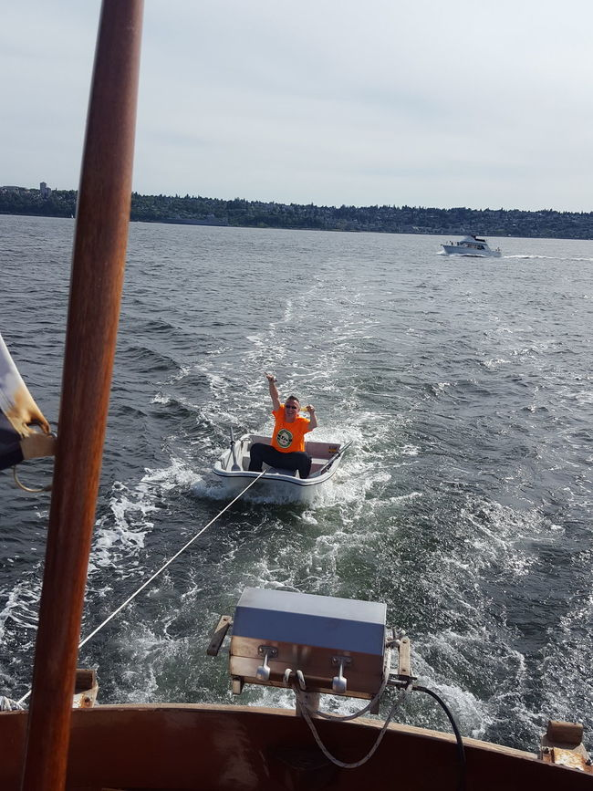 Age is just a number. Lifeonthewater Lifeisshort Liveitup Boat Ride Onaboat Boatlife Enjoying Life Tacoma_WA Commencementbay Pacific Northwest  Celebrate Your Ride