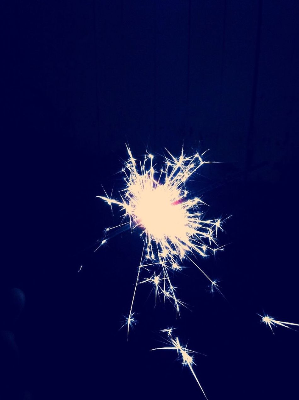 Sparklers are adorable. :3