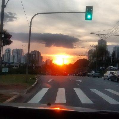 Sao Paulo - Brazil Sunset