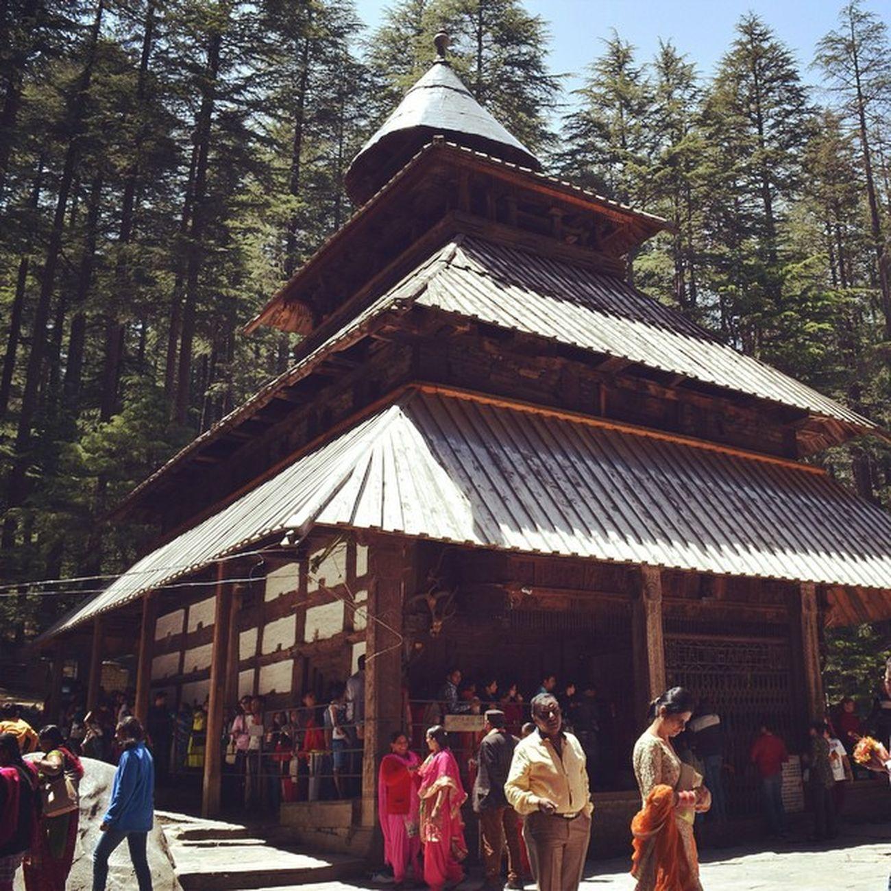 Hidimba_devi Temple Manali Himachal Himachal Pradesh Insta_himachal India Beas Wooden Forest Van_vihar Religious  Place Wonderful Cave_temple