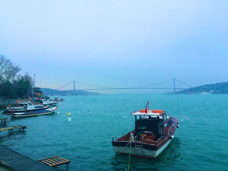 Rainy Day Rain Istanbul - Bosphorus Istanbuldayasam Istanbul Relaxing Walking Around People Watching Blue