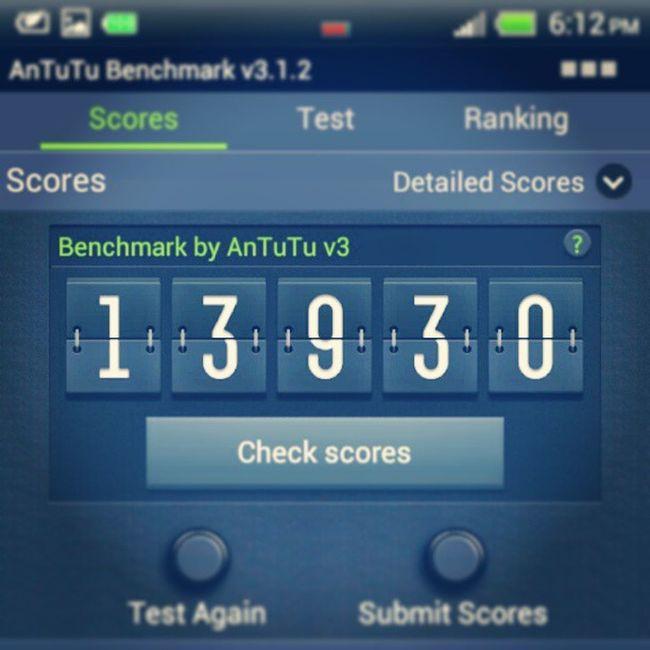 Cc @afiqsamat , Jellybean 4Antutu Benchmark Score htc android