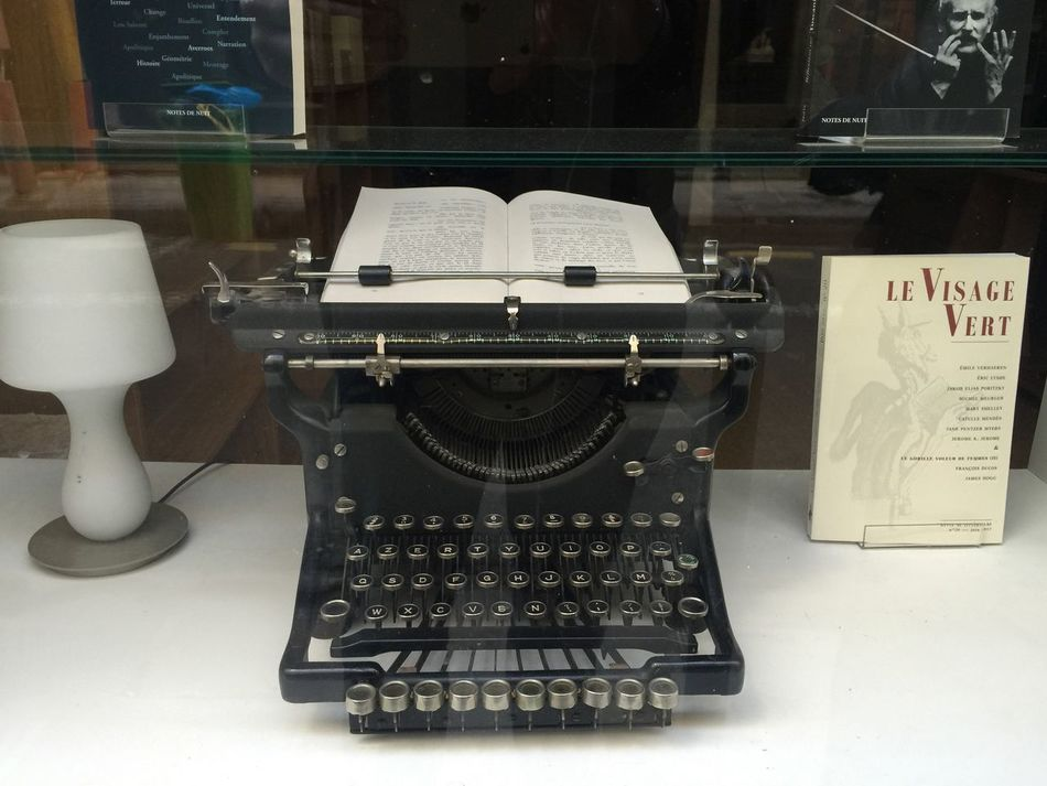 Writing Without Distraction Is Low Tech Indoors  No People Old-fashioned Technology Typewriter TypeWriters Writing Writing Machine