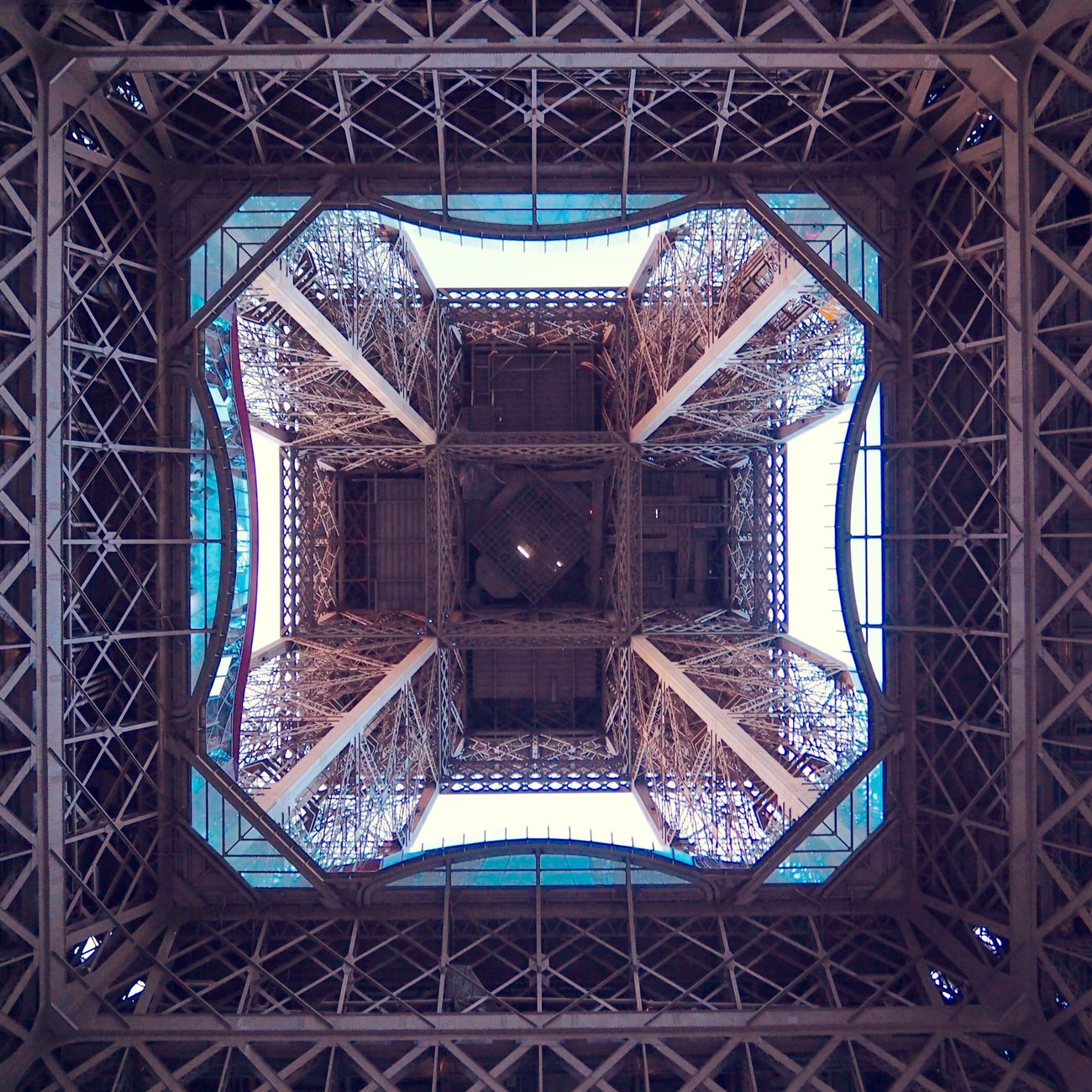 always looking for new perspektives Architecture No People City Street Streetphotography Urban Low Angle View Geometric Shape Geometry Lines Symmetry Abstract Abstract Photography Paris Tour Eiffel Eifelturm France Frankreich Steel Construction Backgrounds EyeEmNewHere The Architect - 2017 EyeEm Awards