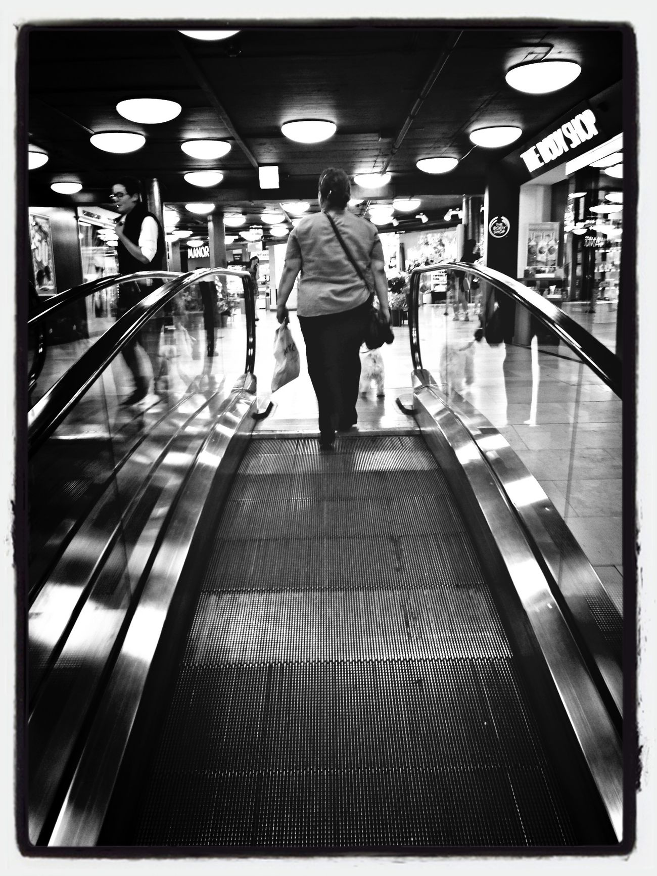 Movies Shopping Streetphotography Blackandwhite