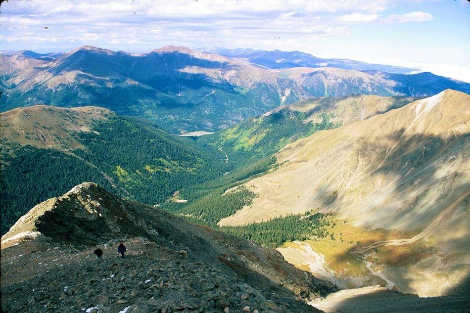 Landscape #Nature #photography Nikon FA Fuji Velvia 50 Mountain Climbing