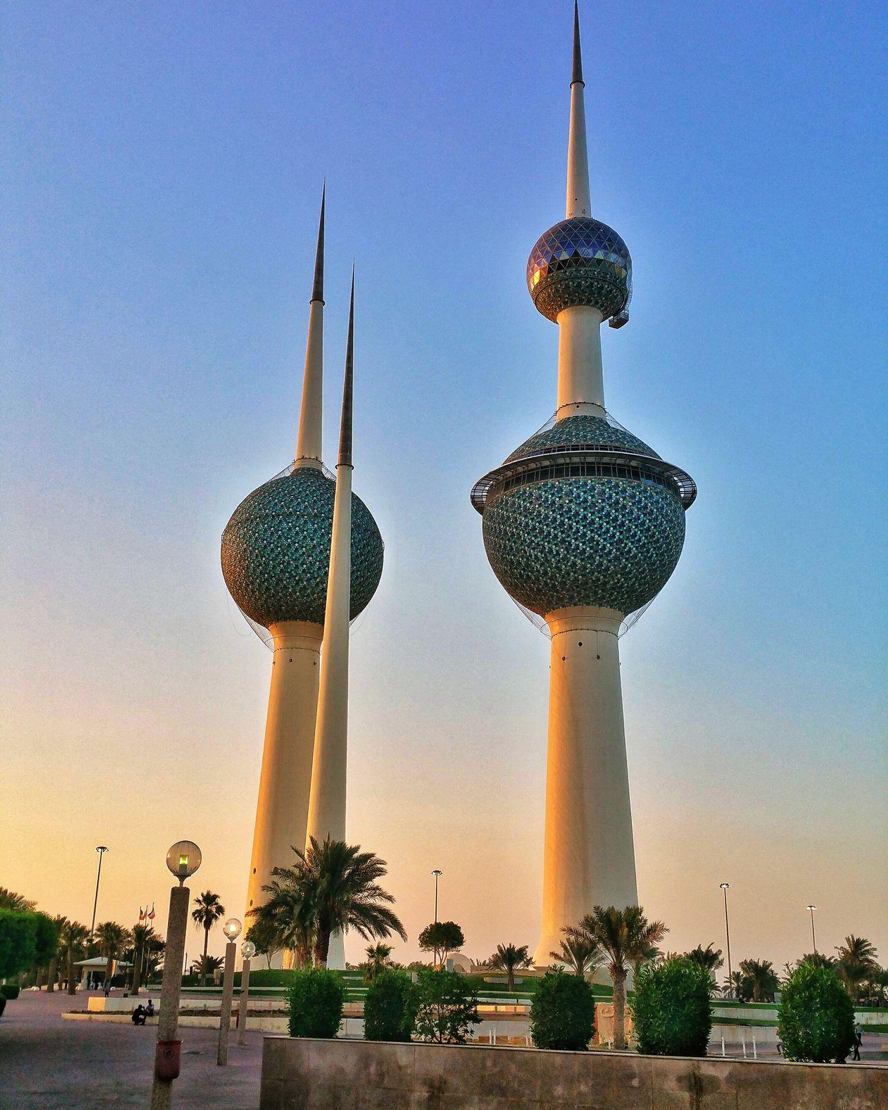 Kuwait Kuwait Towers Kuwaitinstagram Kuwaitstreetphotography Middle East Middleeast Gulf