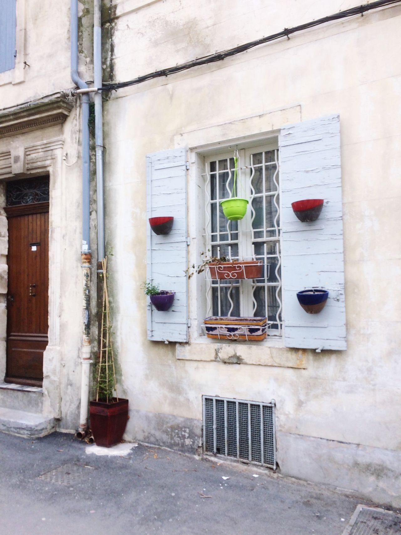 Window Built Structure No People Window Box White Color France 🇫🇷 France Arles