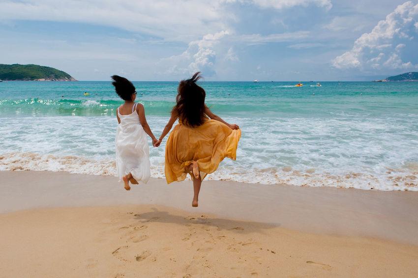 Beach Wonderful Vacation Friends ❤