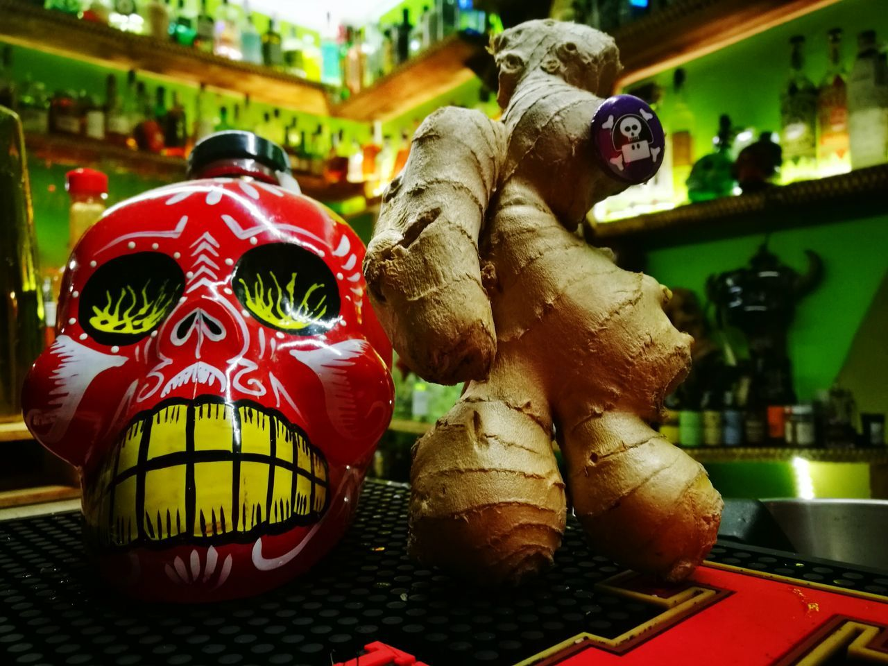 Skool Woodoo Tequila! Tequila Time Santa Muerte Zenzero Drink Huawei P9 Leica