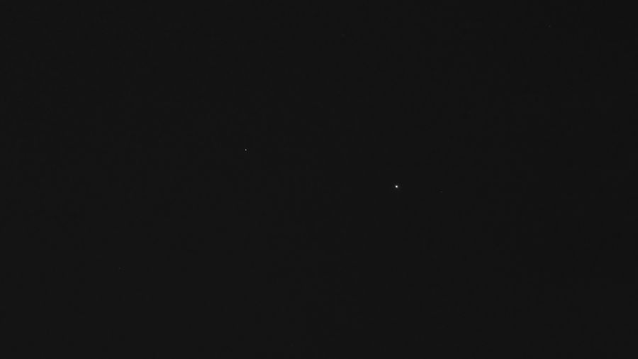 Jupiter and Spica of the Virgo constellation • Sony Xperia Xz Takenwithxperia Shotbyxperia Itsme_itsXperia Mobilephotography Manual Astrophotography Lowlight Outdoor Sky Jupiter Planet Jovian Jovian System Distant Gas Giant Star Spica Lightyearsaway Virgo Time