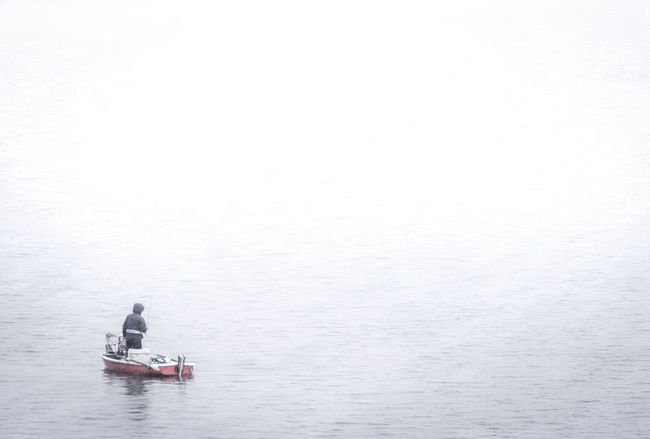 Outsider In Silence Vs Noise Drastic Edit Minimalism Human Vs Nature Nature White Album A Moment Of Zen... WhiteCollection On A Boat Fisherman Rainy Days People Summer Views Fine Art Travel Picturing Individuality Muted Colors Lake Landscapes Resist Long Goodbye Place Of Heart Live For The Story Lost In The Landscape