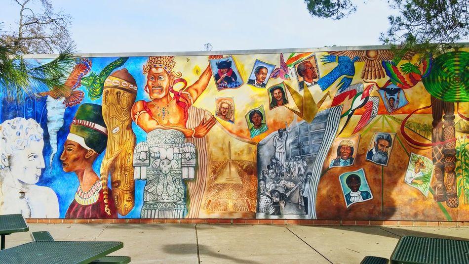 Just a sweet mural. Grafittiart Ucdavis